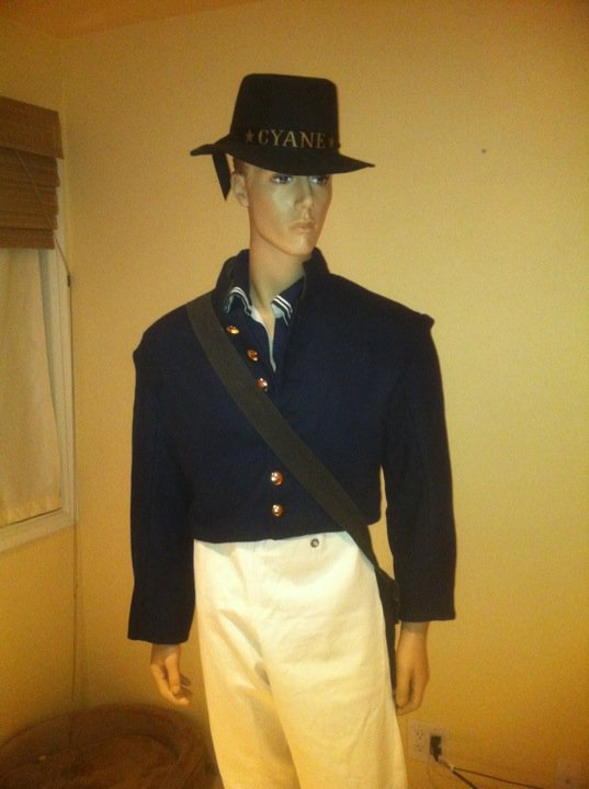 Our new mannequin with Cyane crew uniform